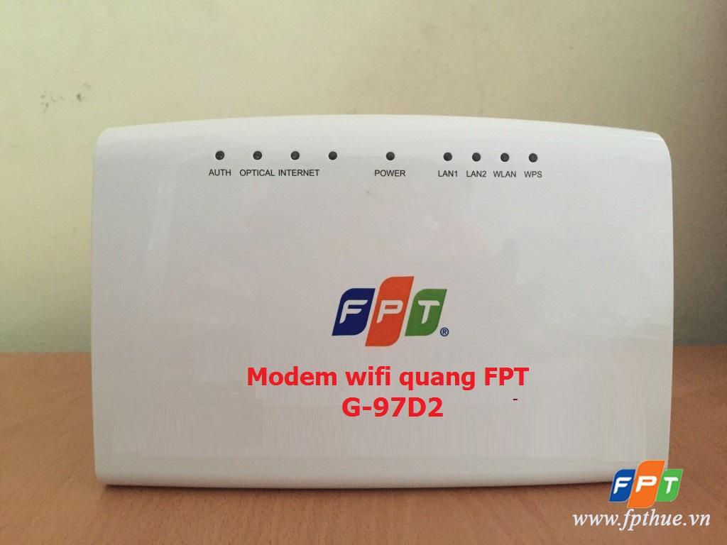 Đổi mật khẩu wifi Modem wifi G97D2 FPT trong 4 bước