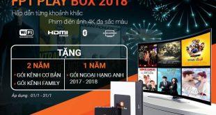 FPT Play Box khuyến mãi 20187