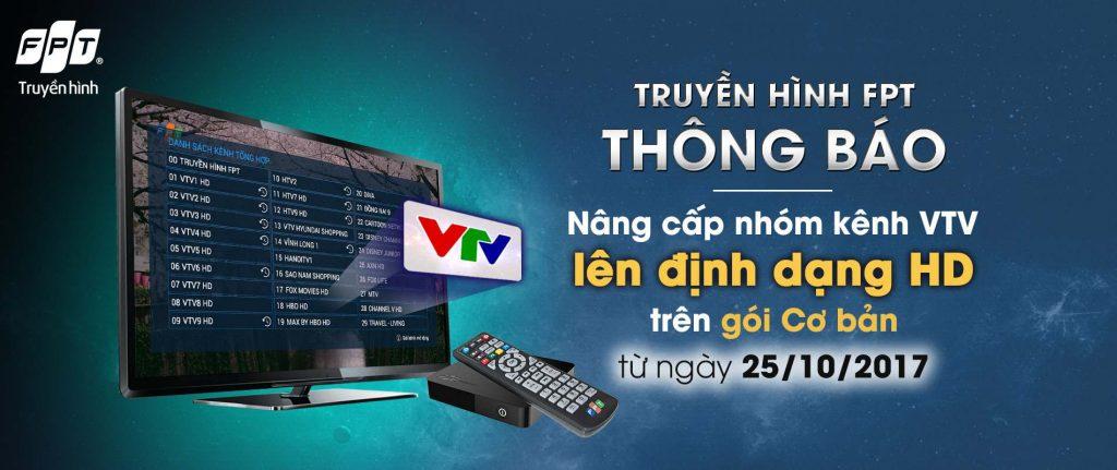 Truyền hình FPT nâng cấp thêm nhóm kênh HD trên hệ thống cho khách hàng